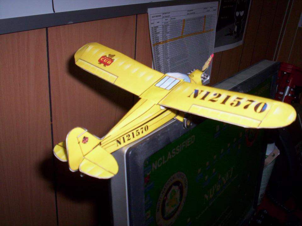 Paper Model Airplanes